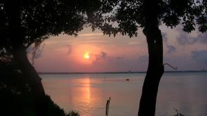 sunrise in pc saint andrews bay