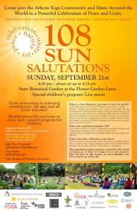 108 sun saluations yoga